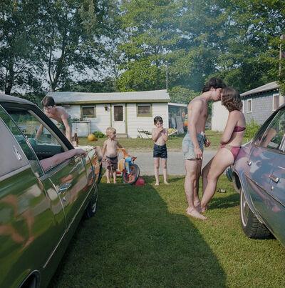 Stephen A. Scheer, 'The Maples #23 - Kiss Between Cars', 1979