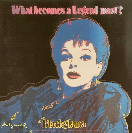 Andy Warhol, 'Blackglama (Judy Garland)', 1986