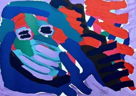 Karel Appel, 'Another Blue Head Again', 1980