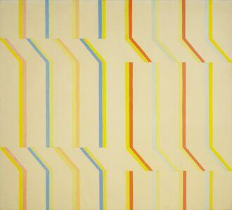 Michael Loew, 'Yellow Aura, White Series #4', 1973