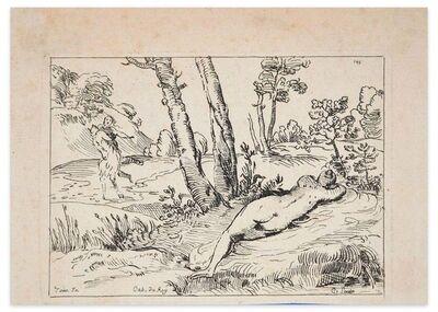 comte de Anne-Claude-Philippe de Tubières Caylus, 'Sleeping Nymph', Early 18th Century