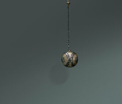 Unknown Artist, 'Gilt Silver Sachet with Flower and Bird Patterns', Tang dynasty-618–907