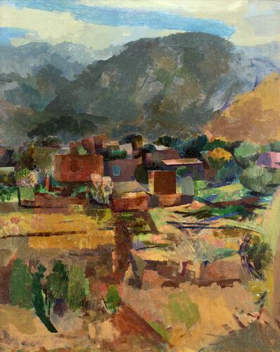 Willard Nash, 'View of Ranchos', 1927
