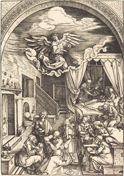 Albrecht Dürer, 'The Birth of the Virgin', ca. 1503/1504