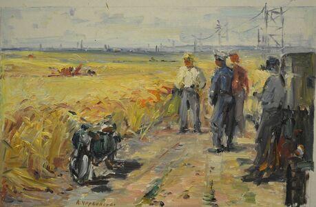 Aleksandr Nikiforovich Chervonenko, 'My country´s fields', 1957