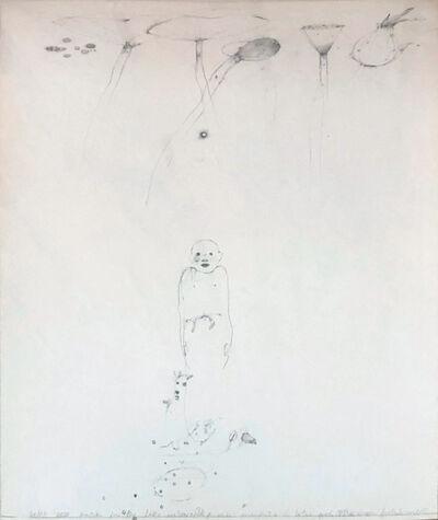 Raymond Saunders, 'Boy and Waterlilies – Echo Park', 1980