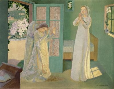 Maurice Denis, 'The Annunciation', 1913