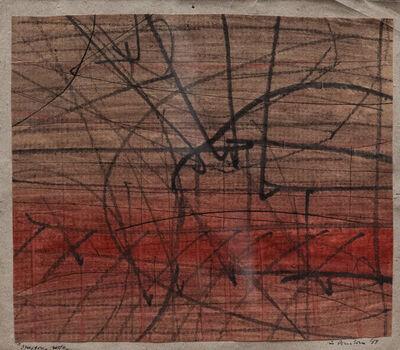 Giò Pomodoro, 'Stregone rosso', 1958