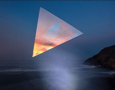 Kevin Cooley, 'Triangle, Marin Headlands', 2019