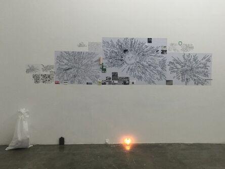 Lia Perjovschi, 'Installation at Total Museum', 2015