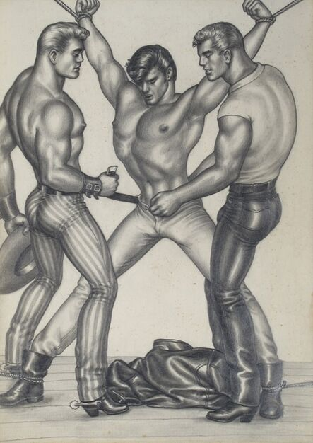 Tom of Finland, 'The Saddle Thief XIII', 1958