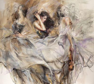 Anna Razumovskaya, 'Auburn Melody ', ca. 2017