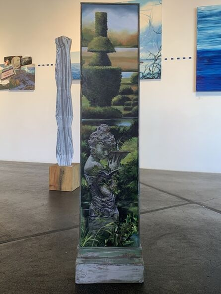 Pamela Mower-Conner, 'Gardens at Levens Hall', 2020