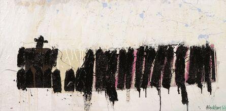 John Blackburn, 'Little Black Cross', 2010