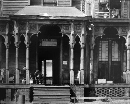 Walker Evans, 'Boarding House Porch, Birmingham, Alabama', 1936