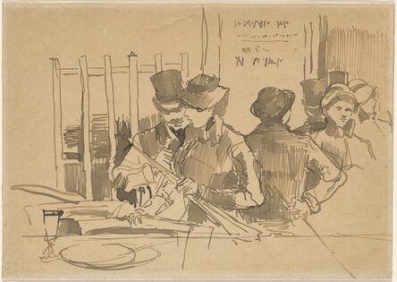 Édouard Manet, 'The Railway Restaurant', ca. 1879