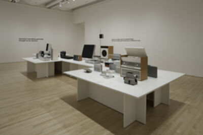 """Dieter Rams, 'Installation view """"Less and More: The Design Ethos of Dieter Rams""""', 2011"""