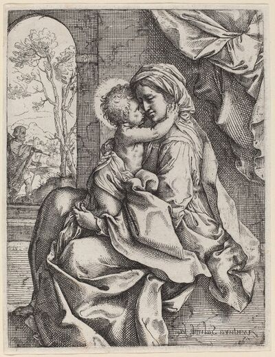 Ventura Salimbeni after Guido Reni, 'Virgin and Child'