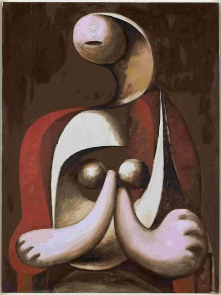 Pablo Picasso, 'Seated woman in a Red Armchair', 1932