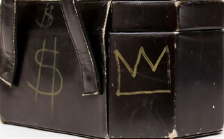 Jean-Michel Basquiat, 'Jean-Michel Basquiat & Andy Warhol illustrated 'Purse' 1984 ', 1984