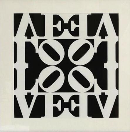 Robert Indiana, 'Love, from Decade Portfolio', 1971