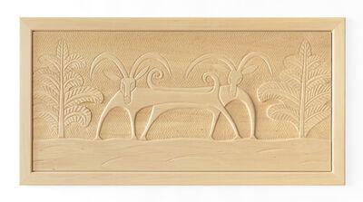 Judy Kensley McKie, 'Gazelle Headboard/Relief', 2013