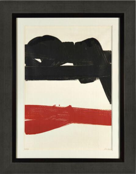 Pierre Soulages, 'Lithographie 27', 1969