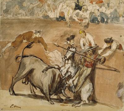 Édouard Manet, 'Bullfight', 1865