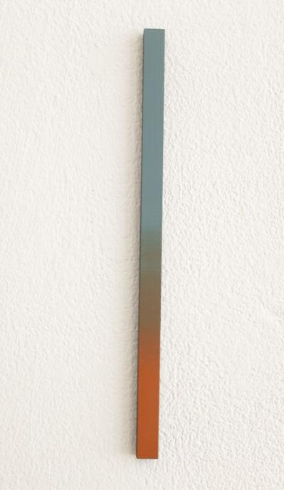 Misato Seki, 'Slit (blue and orange)', 2019