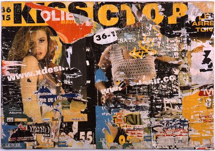 Jacques Villeglé, 'Tourcoing', 2000