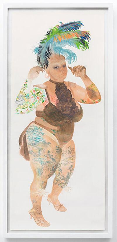 Firelei Báez, 'Anayansi', 2010