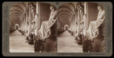 Bert Underwood, 'Corridor in the famous Campo Santo, Genoa', 1900