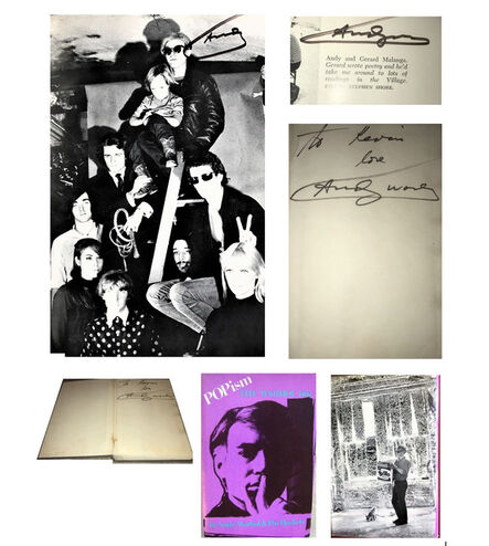 """Andy Warhol, '""""POPISM-The Warhol '60s"""", SIGNED 3-TIMES !!!!, 1980, First Edition, Hardcover, The Factory with Velvet Underground', 1980"""