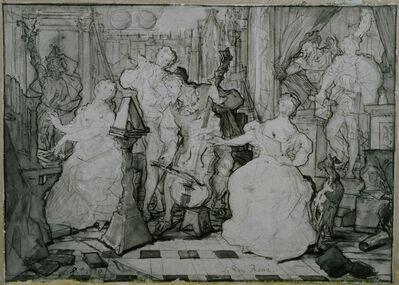 Eugène Delacroix, 'Le Roy René', 1830