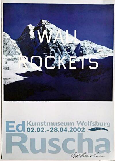 Ed Ruscha, 'Wall Rockets (Hand Signed)', 2002
