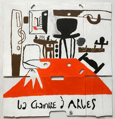 Soeren Behncke, 'La Chambre (Little Red Version)', 2016