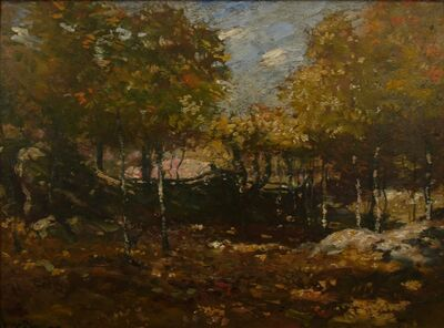 Henry Ward Ranger, 'Crumbled Fences', ca. 1905