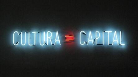 Alfredo Jaar, 'Cultura=Capital', 2012
