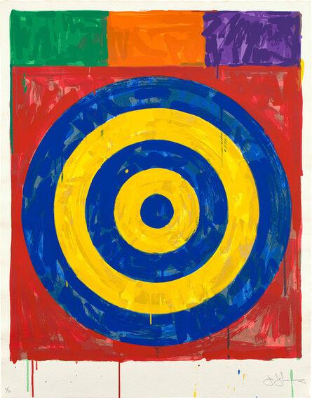 Jasper Johns, 'Target (ULAE 147)', 1974