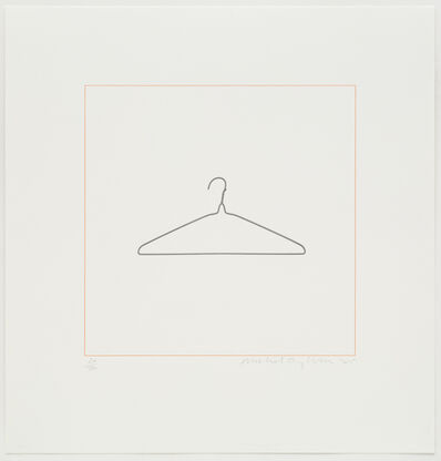 Michael Craig-Martin, 'Coathanger', 2015