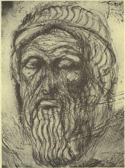 Jim Dine, 'Head of Homer', 1993