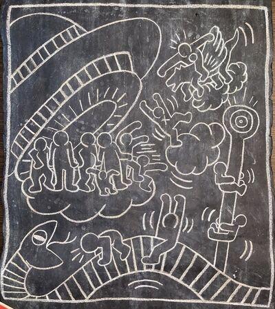 Keith Haring, 'Untitled ( Subway Drawing )', ca. 1980