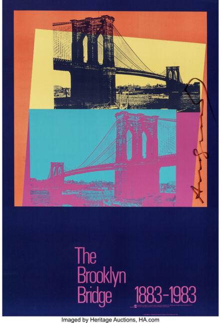 Andy Warhol, 'The Brooklyn Bridge Poster', 1983