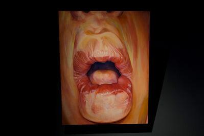 Janice Liao, '擠壓系列─唇 No.5 Squeeze-Lips IV'