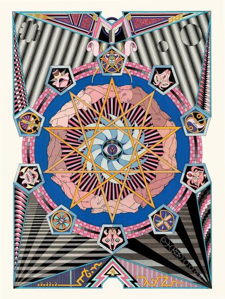 Jess Johnson, 'Psy Zetta Terra', 2018