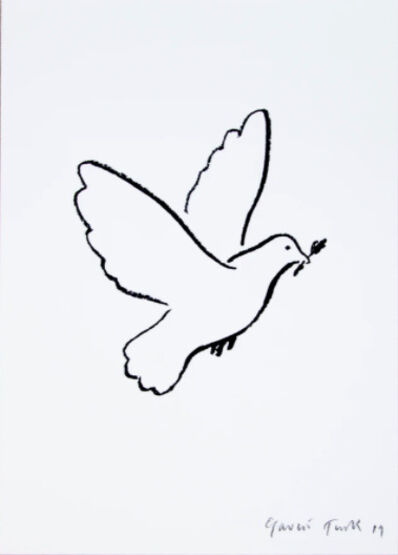 Gavin Turk, 'Peace Dove', 2019
