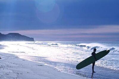 Shawna Ankenbrandt, 'Trace (blue surfer)'