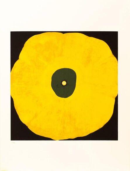 Donald Sultan, 'Untitled (Poppy Flower)', 1998
