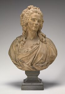 Philippe-Laurent Roland, 'Thérèse-Françoise Potain Roland, Wife of the Sculptor', ca. 1782/1783