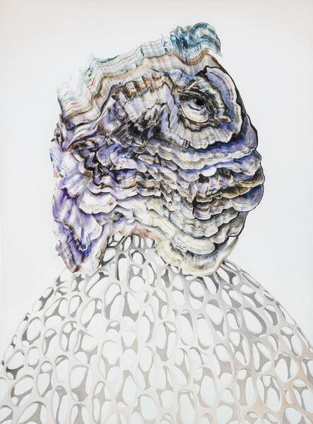 Benedikt Hipp, 'neonatal refractions No 36', 2018